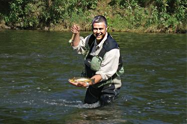 Fliegenfischen in Bayern